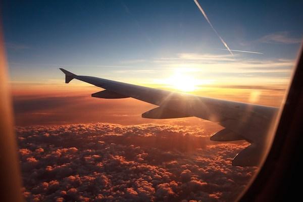 viaggiatore d'aereo